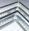 brand curved aluminum spacer