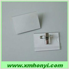 side loading Acetate card holder