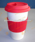 OEM silicone coffee cup lid