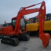 FR65 crawler excavator with 0.22m3 total weight 6650kg