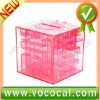 3D Crystal Puzzle Box Money Maze