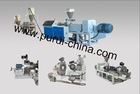 Air cooling die face pelletizing system