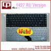 Hot Sale Laptop Keyboard for dell 1427 RU Version Black Notebook Keyboard Whoelsale