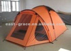 3 persons tunnel family camping tent with a hall