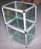 Glass showcase, display case, display box, glass case