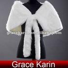 GK Faux Fur Wedding Bridal Evening Wrap CL2623
