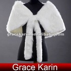 GK Faux Fur Wedding Bridal Evening Wrap CL2623