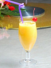 mango juice beverage