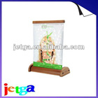 Newest! ECO-friendly Little Moon Roll Up/bamboo display/outdoor advertising -Environmental