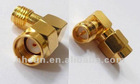 Male to Female RP SMA Right Angle Adapter