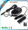 80W Universal Power Adapter DC 12V Car Use Only for Laptop Notebook with Adjustable Output Voltage