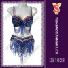 Belly dance costume set, sexy and fashionable dance costume