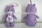 bear/candy bag/stuffed toy with candy bag/stuffed bear/candy bag/candy toys/toy