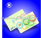 Printing IC card