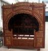 Antique furniture old carved bed