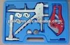 pipe expander tool set for pex pipe and pex-al-pex pipe