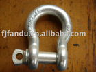 Steel d shackle