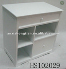 2010 White Wooden Drawers