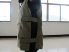 self cooling work vest with self cooling material as filling material