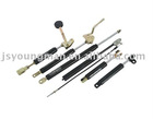 Controllable gas spring for car seat and others