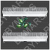 Commercial cold air curtains
