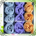 wholesale chiffon rose flower lace