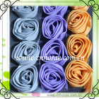 wholesale chiffon rose flower lace