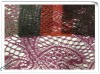 2012 new design mesh lace fabric