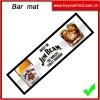 Custom pvc bar top mat