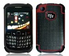 Hot selling mobile phone accessory 3 in 1 case for blackberry 8520 case mix colors