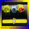 glow in the dark silicone bracelet led light with custom logo design