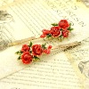 New arrival fashion delicate individual flower hair clip
