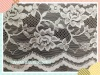 SCOLLOPED lace fabric