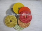 marble and granite wet polishing pads