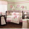 13pcs applique baby bedding set