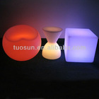 2013 Fashion design led chairs ,color changing products with remote control