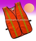 Workplace high visibility reflective clothing and safety vest