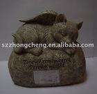 Cat's urn