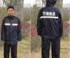 Antistatic PVC raincoat