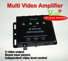 Good quality 4 way video signal amplifier for car