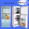 Up freezer down cooler refrigerator 132L