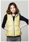 2012 new design lady fashion garment American fashion girls' winter printed vest