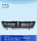 car grilles for nissan sunny N16 2000-2003