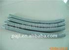 Chemical-resistant antistatic plastic spiral tube