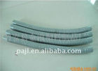 Chemical-resistant antistatic plastic spiral tube