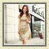 Ladies' fashion style small leopard dress