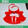2011 fashionable bibs for baby with seal design