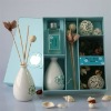 Ceramic bottle fragrance & perfume reed diffuser with potpourri and 100ml aroma oil & home decoration