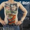 HW funny t-shirts/Tattoo print t shirts