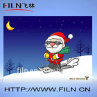 Various size color and design Christmas Card